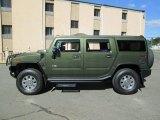 2003 Sage Green Metallic Hummer H2 SUV #89161605