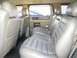 2003 Hummer H2 SUV Rear Seat