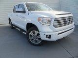 2014 Super White Toyota Tundra Platinum Crewmax 4x4 #89161404