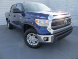 2014 Blue Ribbon Metallic Toyota Tundra SR5 Crewmax 4x4 #89161403