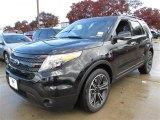 2014 Tuxedo Black Ford Explorer Sport 4WD #89161173