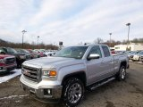 2014 Quicksilver Metallic GMC Sierra 1500 SLT Double Cab 4x4 #89161330
