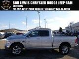 2014 Bright Silver Metallic Ram 1500 Big Horn Quad Cab 4x4 #89161247