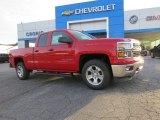 2014 Victory Red Chevrolet Silverado 1500 LT Double Cab #89161460