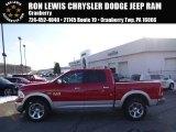 2014 Flame Red Ram 1500 Laramie Crew Cab 4x4 #89161246