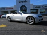 2012 Silver Ice Metallic Chevrolet Camaro LT Convertible #89161382