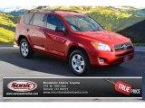 2011 Barcelona Red Metallic Toyota RAV4 I4 #89161079