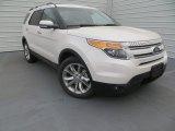 2014 White Platinum Ford Explorer Limited #89199958