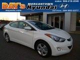 2013 Shimmering White Hyundai Elantra GLS #89200208