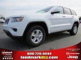2014 Bright White Jeep Grand Cherokee Laredo #89199842