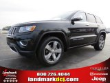 2014 Brilliant Black Crystal Pearl Jeep Grand Cherokee Limited #89199840