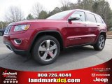 2014 Deep Cherry Red Crystal Pearl Jeep Grand Cherokee Limited #89199839