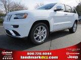 2014 Bright White Jeep Grand Cherokee Summit #89199838
