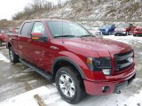 2014 Ruby Red Ford F150 FX4 SuperCrew 4x4 #89199822