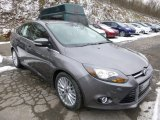 2014 Sterling Gray Ford Focus Titanium Sedan #89199819