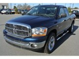 2006 Patriot Blue Pearl Dodge Ram 1500 SLT Quad Cab #89200189