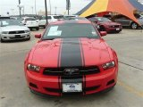 2011 Race Red Ford Mustang V6 Premium Coupe #89199742