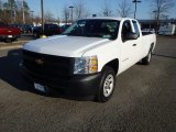 2013 Summit White Chevrolet Silverado 1500 Work Truck Extended Cab #89199663