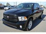 2014 Black Ram 1500 Express Quad Cab 4x4 #89200184