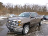 2014 Brownstone Metallic Chevrolet Silverado 1500 LT Double Cab 4x4 #89199924
