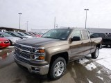 2014 Brownstone Metallic Chevrolet Silverado 1500 LT Double Cab 4x4 #89199922