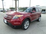 2014 Ruby Red Ford Explorer Limited #89199715