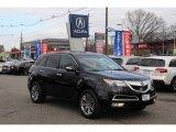 2011 Crystal Black Pearl Acura MDX Advance #89199713