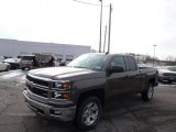 2014 Brownstone Metallic Chevrolet Silverado 1500 LTZ Z71 Double Cab 4x4 #89199913