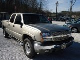 2003 Light Pewter Metallic Chevrolet Silverado 1500 LT Crew Cab 4x4 #89200259