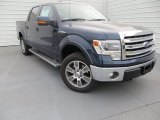 2014 Blue Jeans Ford F150 Lariat SuperCrew 4x4 #89199963