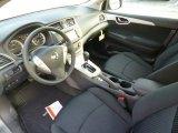 2014 Nissan Sentra SR Charcoal Interior