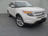 2014 White Platinum Ford Explorer Limited #89199959
