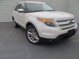 2014 White Platinum Ford Explorer Limited #89199959