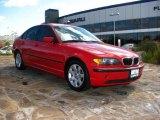 2005 Electric Red BMW 3 Series 325i Sedan #890407
