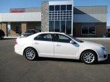 2010 White Platinum Tri-coat Metallic Ford Fusion SEL #89200234