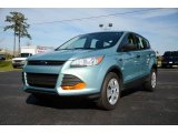 2013 Frosted Glass Metallic Ford Escape S #89200148