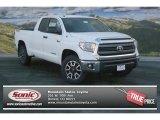 2014 Super White Toyota Tundra SR5 TRD Double Cab 4x4 #89243031