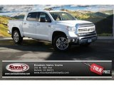 2014 Super White Toyota Tundra 1794 Edition Crewmax 4x4 #89243029