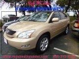 2009 Golden Almond Metallic Lexus RX 350 #89243110