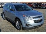 2014 Silver Topaz Metallic Chevrolet Equinox LS #89243301