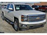 2014 White Diamond Tricoat Chevrolet Silverado 1500 LT Crew Cab 4x4 #89243297