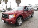 2014 Sunset Ford F150 STX SuperCrew #89243086