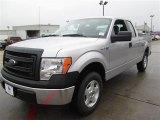 2014 Ingot Silver Ford F150 XL SuperCab #89243084