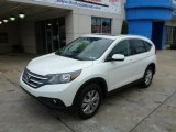 2014 White Diamond Pearl Honda CR-V EX-L AWD #89243132