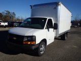 2014 Summit White Chevrolet Express Cutaway 4500 Utility Van #89243039