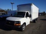 2014 Summit White Chevrolet Express Cutaway 4500 Moving Van #89243038