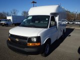 2014 Summit White Chevrolet Express Cutaway 3500 Utility Van #89243037