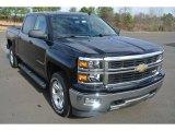 2014 Black Chevrolet Silverado 1500 LT Z71 Crew Cab 4x4 #89265409