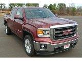 2014 Sonoma Red Metallic GMC Sierra 1500 SLE Crew Cab #89265403