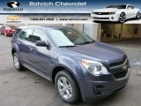2014 Atlantis Blue Metallic Chevrolet Equinox LS AWD #89265417